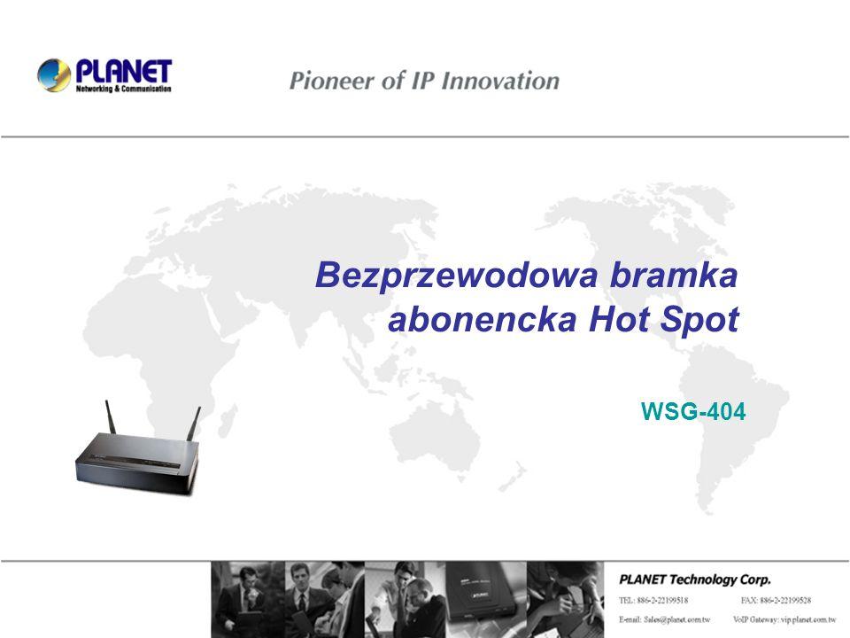 Bezprzewodowa bramka abonencka Hot Spot WSG-404