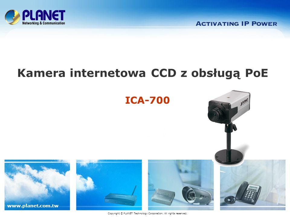 www.planet.com.tw 12/16 Zarządzanie – Cam Viewer Oprogramowanie do centralnego zarządzania wszystkimi kamerami Informacje: Data Czas Ilość miejsca HDD Temperatura CPU Prędkość wiatraka Tekst własny Kontrola PTZ Start / Odtwarzanie/ Rozkład / Bezpieczeństwo / Konfiguracja Podział ekranu Wyjdź/ Minimalizuj Do 32 kanałów (załączony Cam Viewer-Lite )
