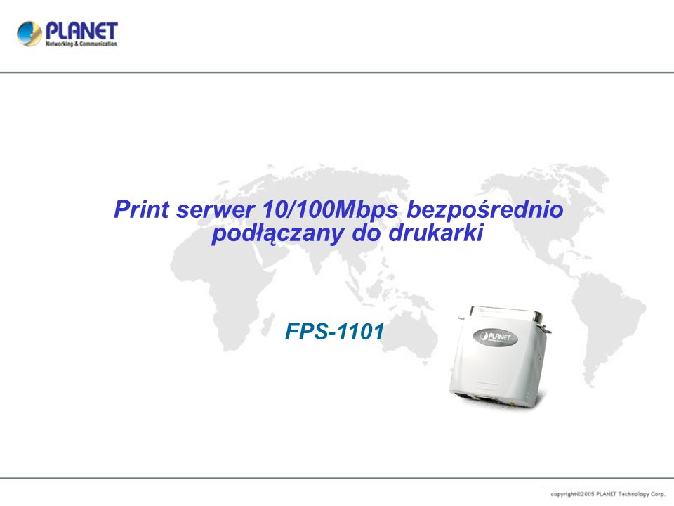 www.planet.pl Pioneer of IP Innovation