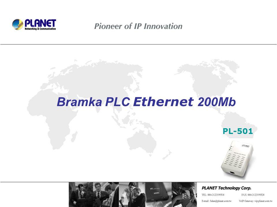 Page 1 / 8 Bramka PLC Ethernet 200Mb PL-501
