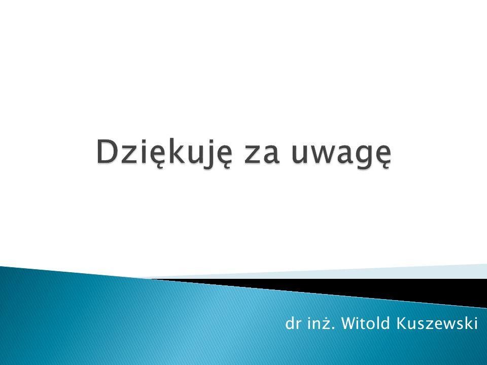 dr inż. Witold Kuszewski