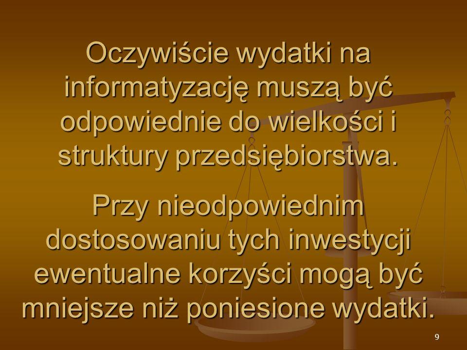 80 Ogólna charakterystyka firmy: Przedsiębiorstwo te jest jedna z największych odlewni żeliwa w Polsce.