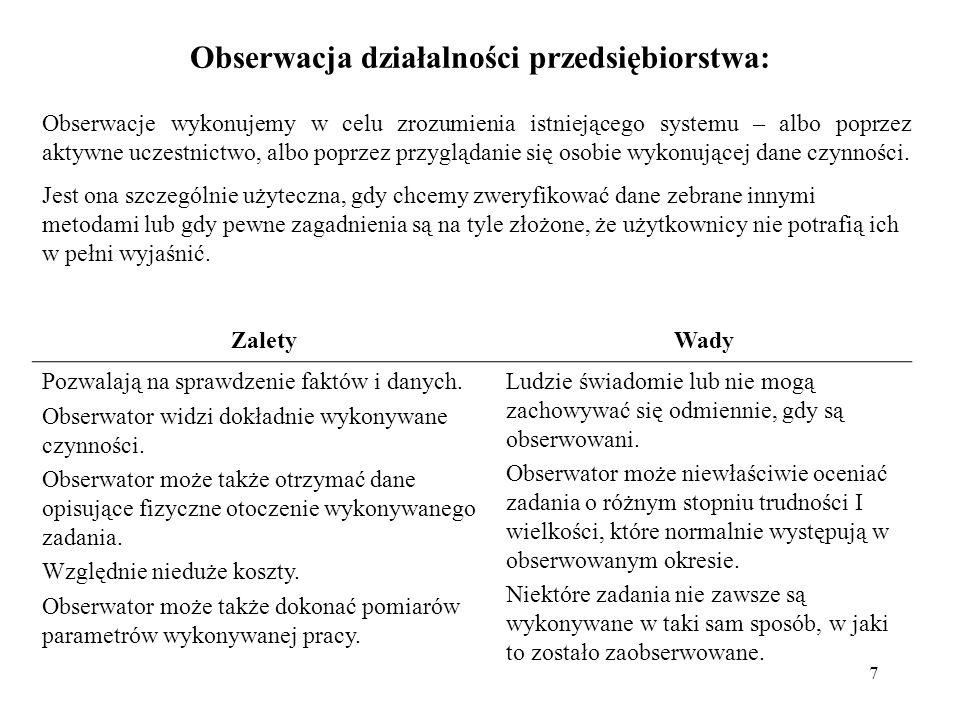 18 Zarządzanie perspektywami Rozstrzygnięcie użycia podejścia scentralizowanego czy integrującego perspektywy na podstawie np.