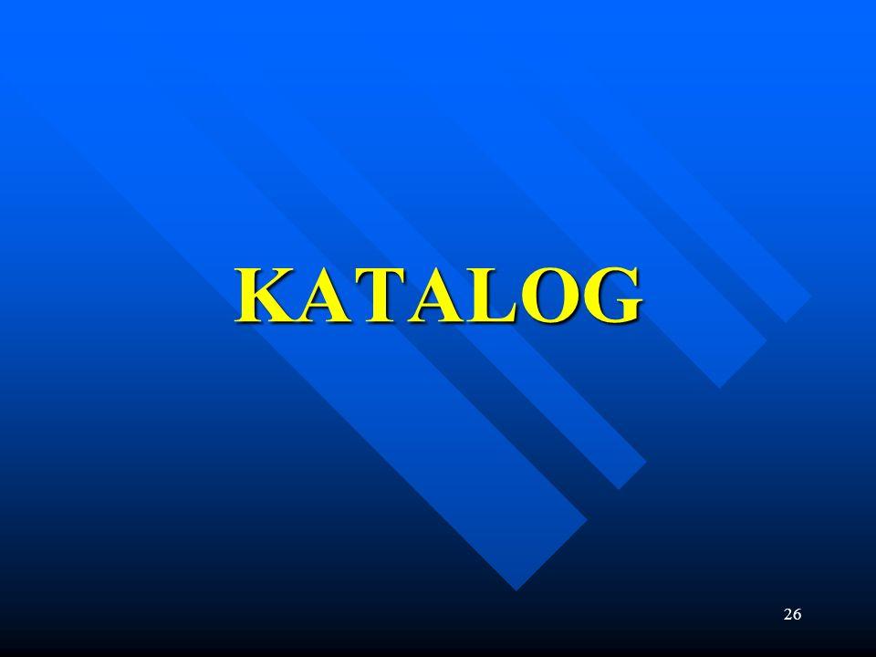 26 KATALOG
