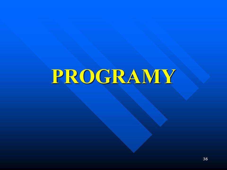 36 PROGRAMY