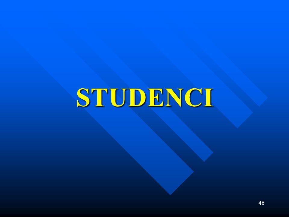 46 STUDENCI