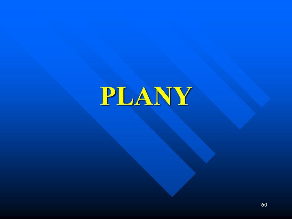 60 PLANY