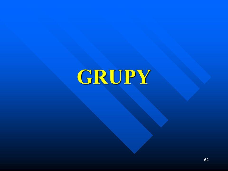 62 GRUPY