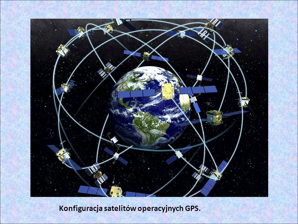 System satelitów System pracuje na obszarze całej Ziemi, bo w każdym punkcie globu widoczne są zawsze przynajmniej cztery satelity.
