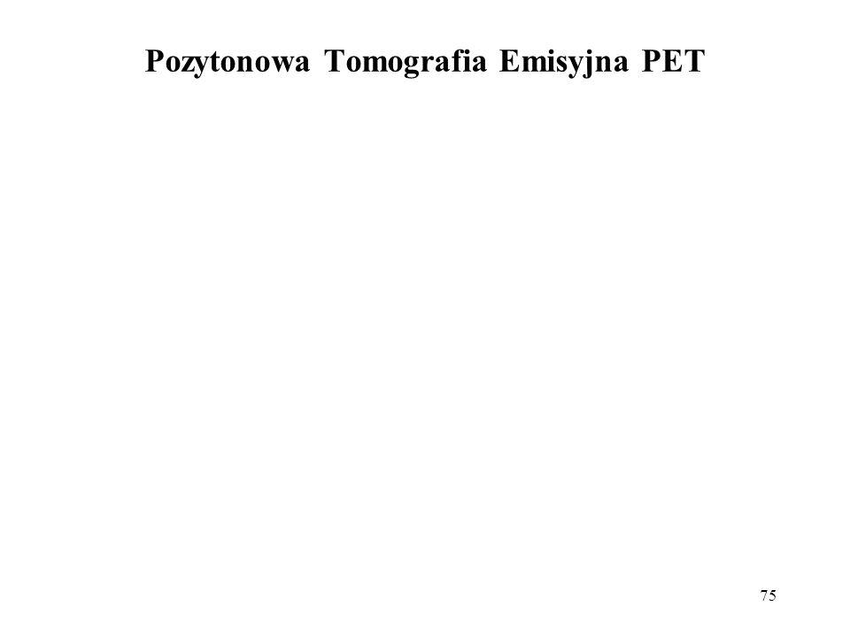 75 Pozytonowa Tomografia Emisyjna PET