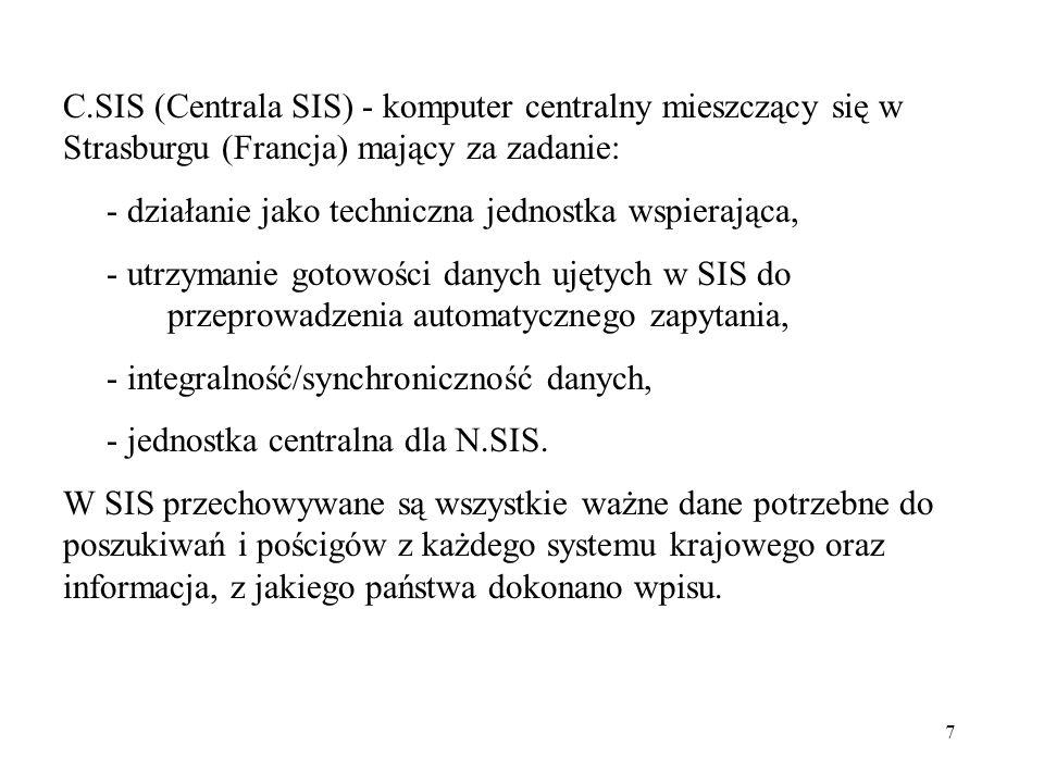 8 Wprowadzony wpis system przekazuje do wszystkich krajowych systemów informacyjnych NSIS.