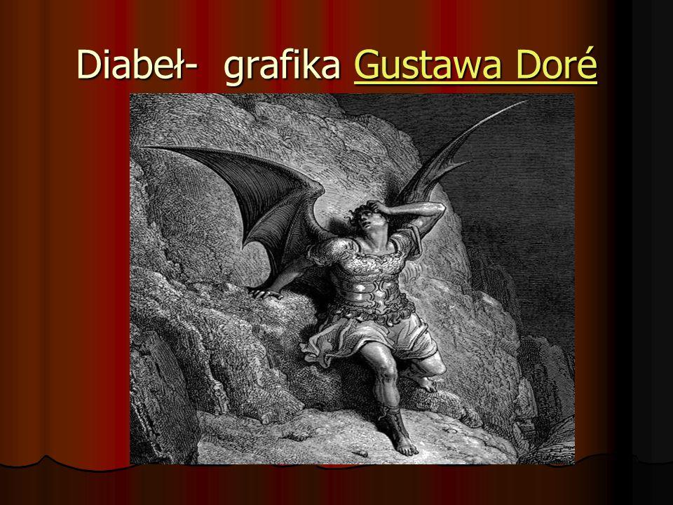 Diabeł- grafika Gustawa Doré Gustawa DoréGustawa Doré
