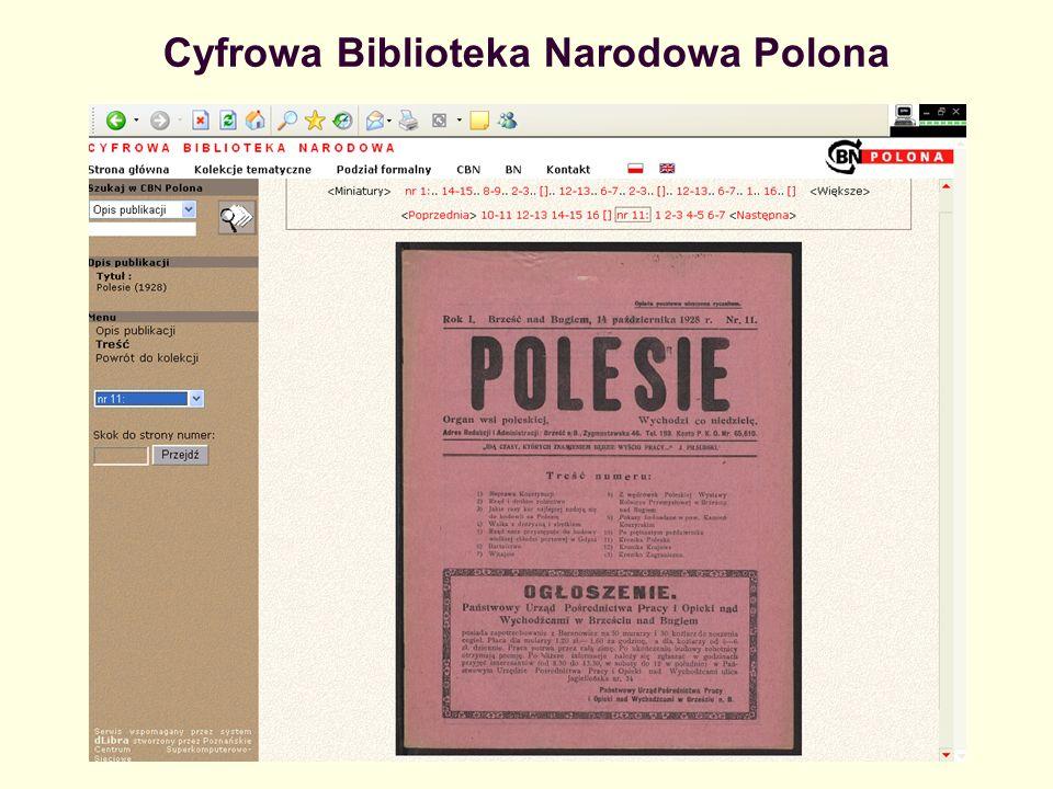Cyfrowa Biblioteka Narodowa Polona