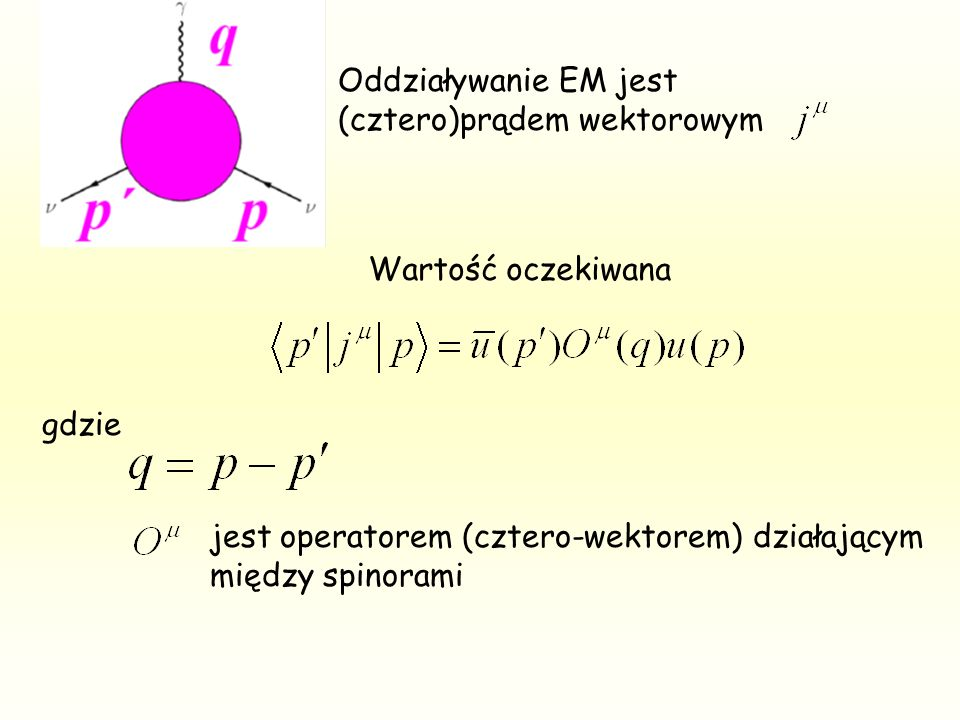 Wkład poprawek radiacyjnych do rozpraszania daje się przetłumaczyć na skończony wymiar (kontrowersyjne) = 3.2 * 10 -33 cm 2 dla e = 1.7 * 10 -33 cm 2 dla Rozpraszanie + e + e jest czułe na tę wielkość Średni wynik wielu exp.