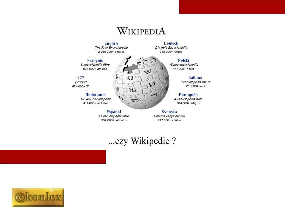 ...czy Wikipedie
