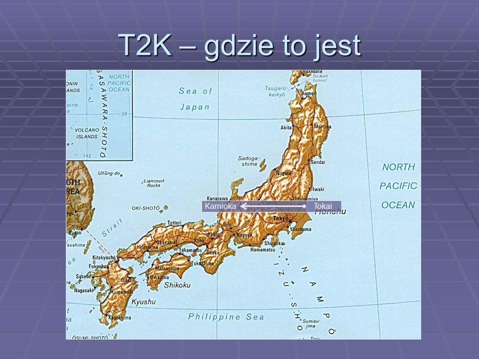 T2K – gdzie to jest KamiokaTokai