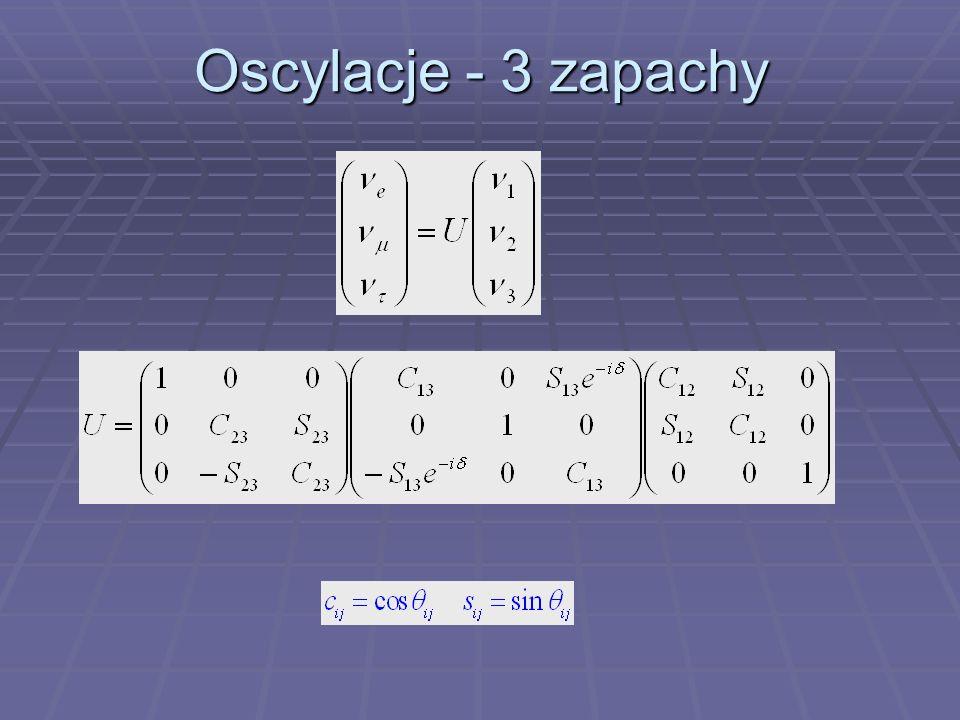 Oscylacje - 3 zapachy