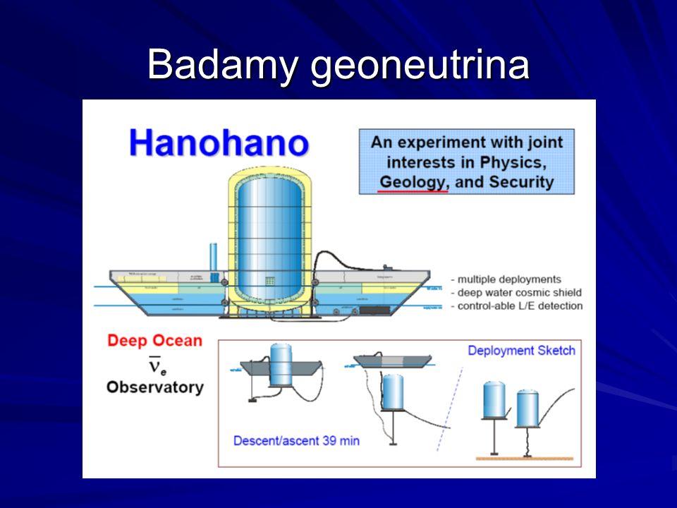 Badamy geoneutrina