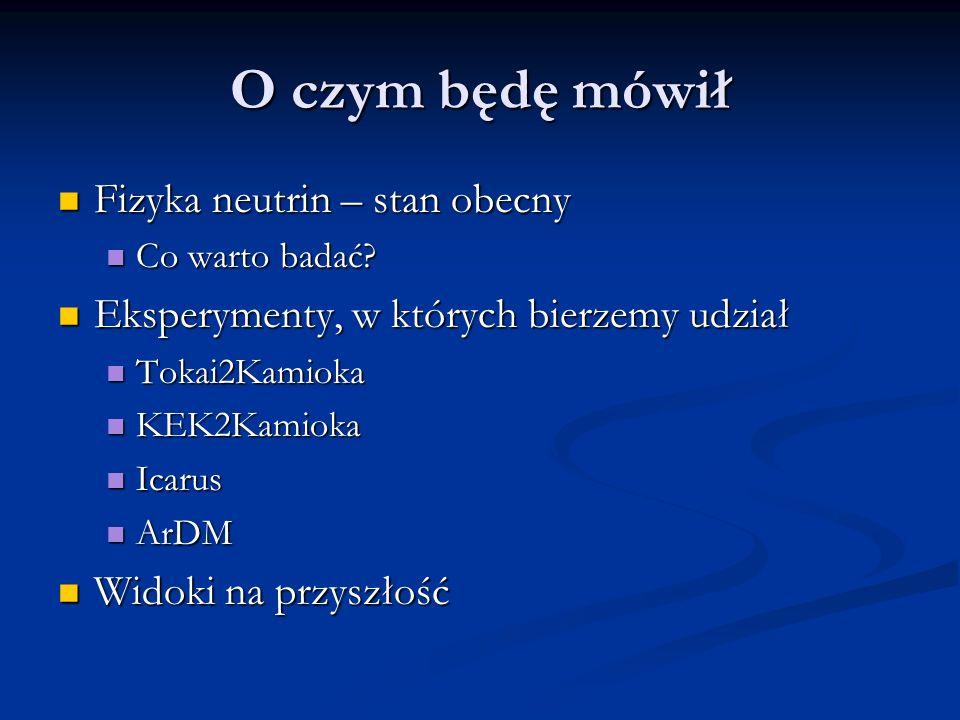 Finansowanie SPUB (IPJ) 621/E-78/SPB/ICARUS/P-03/DZ 214/2003-05 SPUB (IPJ) 621/E-78/SPB/ICARUS/P-03/DZ 214/2003-05 Grant KBN (UW) SK, K2K, T2K Grant KBN (UW) SK, K2K, T2K Współpraca polsko-włoska Współpraca polsko-włoska ILIAS Icarus, też pomiary tła (wspólnie z Uniw.