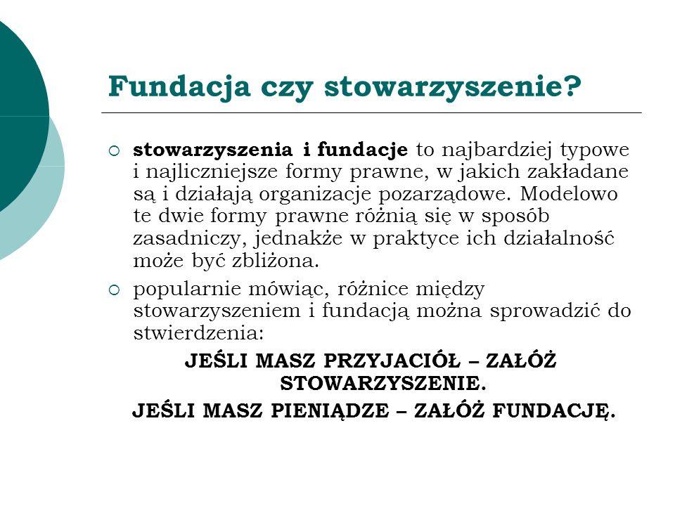 Nadzór administracyjny nad fundacjami od 1 stycznia 2006 r.