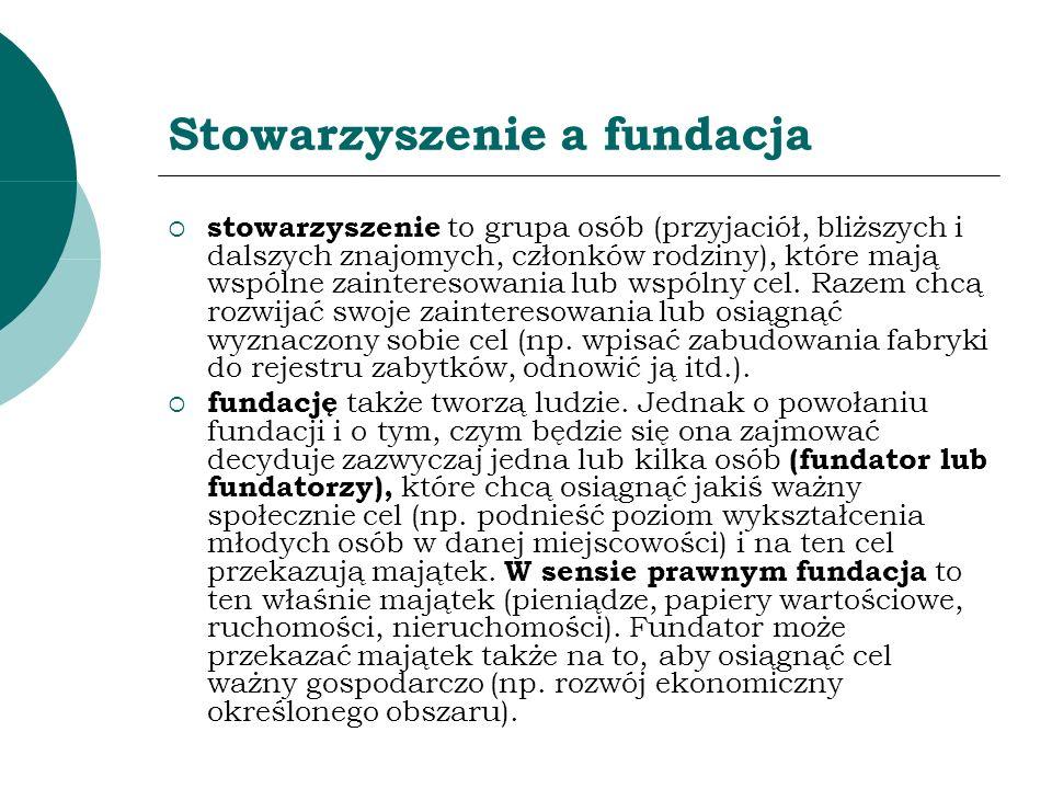 Nadzór administracyjny nad fundacjami Kontrola ministra lub starosty (do końca 2005 r.