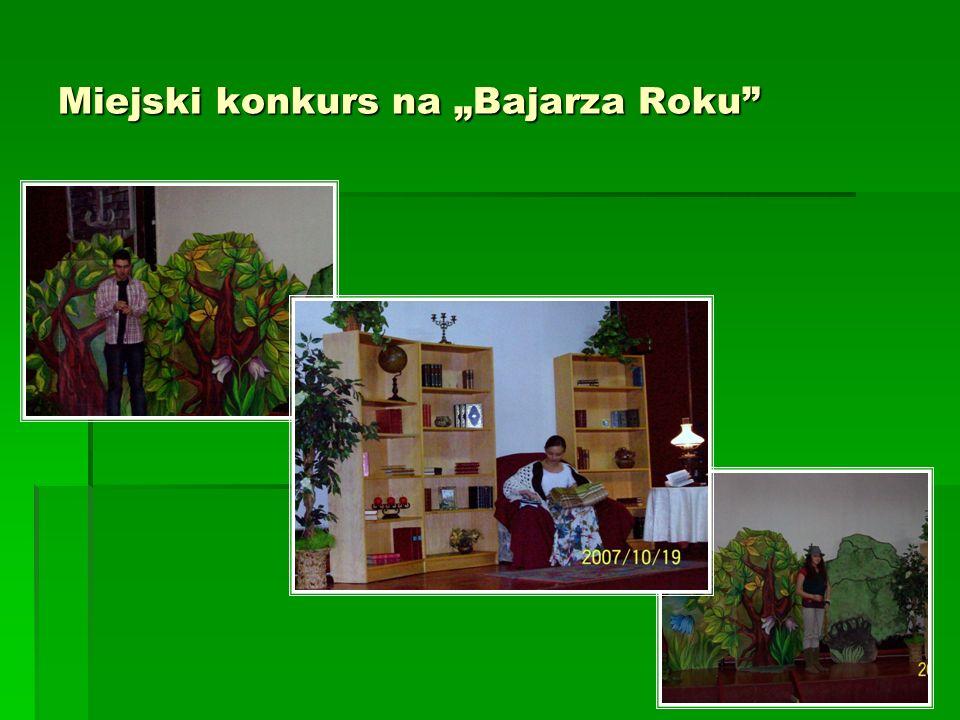 Miejski konkurs na Bajarza Roku