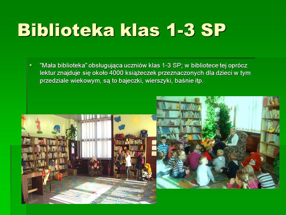 Biblioteka klas 1-3 SP