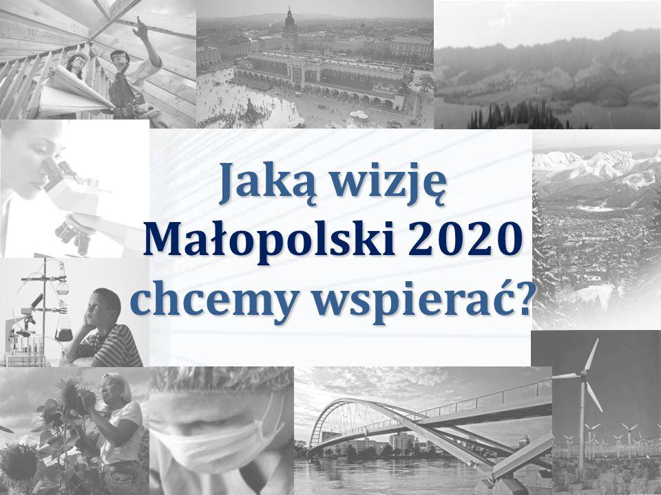 Jaką wizję Małopolski 2020 chcemy wspierać