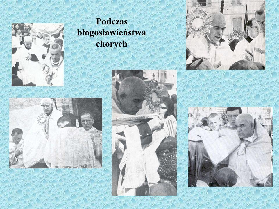 Podczas błogosławieństwa chorych