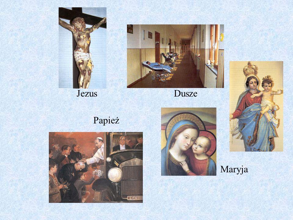 JezusDusze Papież Maryja