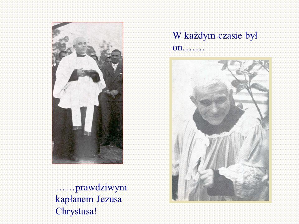 Uchowaj mnie Boże od złudzenia, od diabelskiego wprowadzenia w błąd, że ja – kapłan – mam się zajmować tylko tymi, którzy chodzą do kościoła....