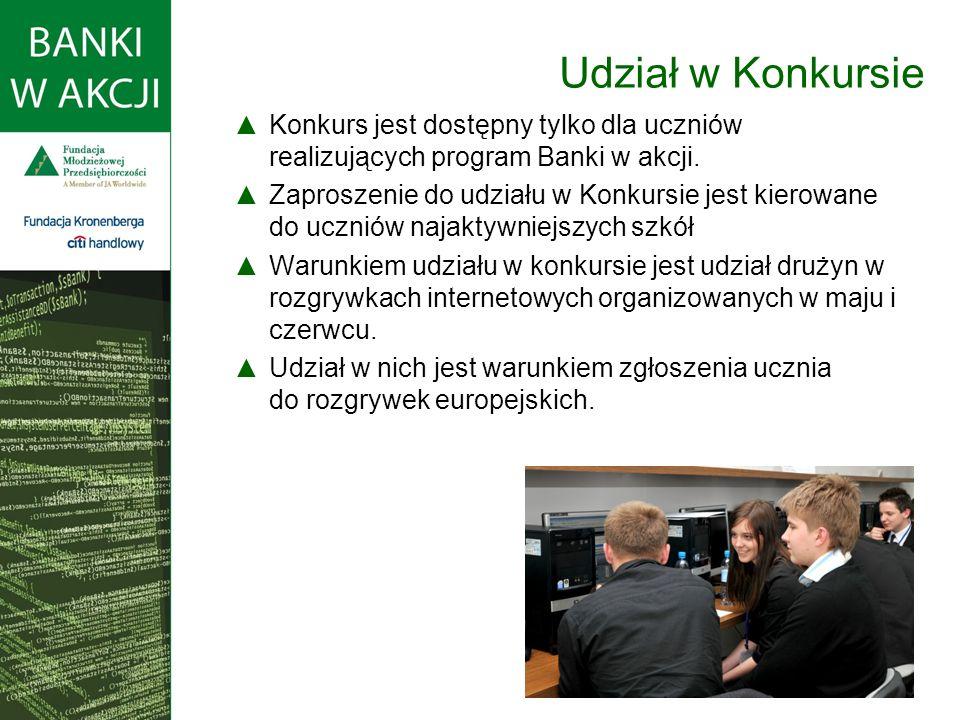 Konkurs odbywa się poprzez internet.Biorą w nim udział uczniowie z całej Europy.