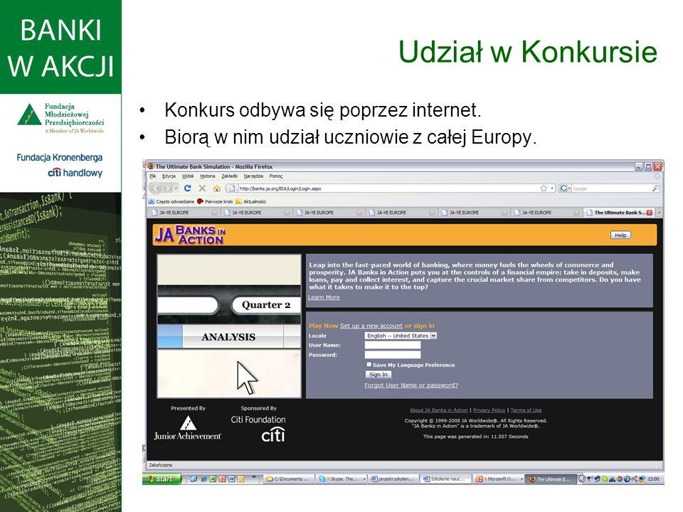 Konkurs odbywa się poprzez internet. Biorą w nim udział uczniowie z całej Europy. Udział w Konkursie