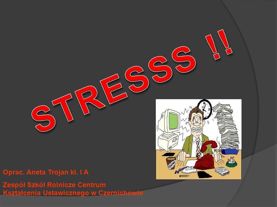 Co to jest stres.