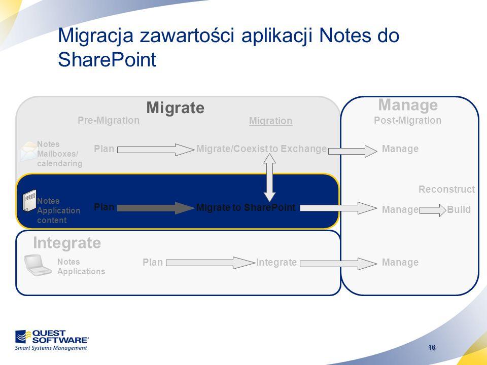 15 Migracja wykonywana przez użytkownika - SSDM Self Service Desktop Migrator