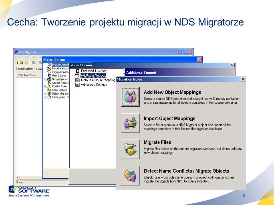 17 Spójność informacji Zachowanie formatowania wiadomości –Formatowanie HTML Konwersja adresów podczas migracji –Możliwość odpowiadania na e-maile –GroupWise connector może być usunięty po przeprowadzonej migracji