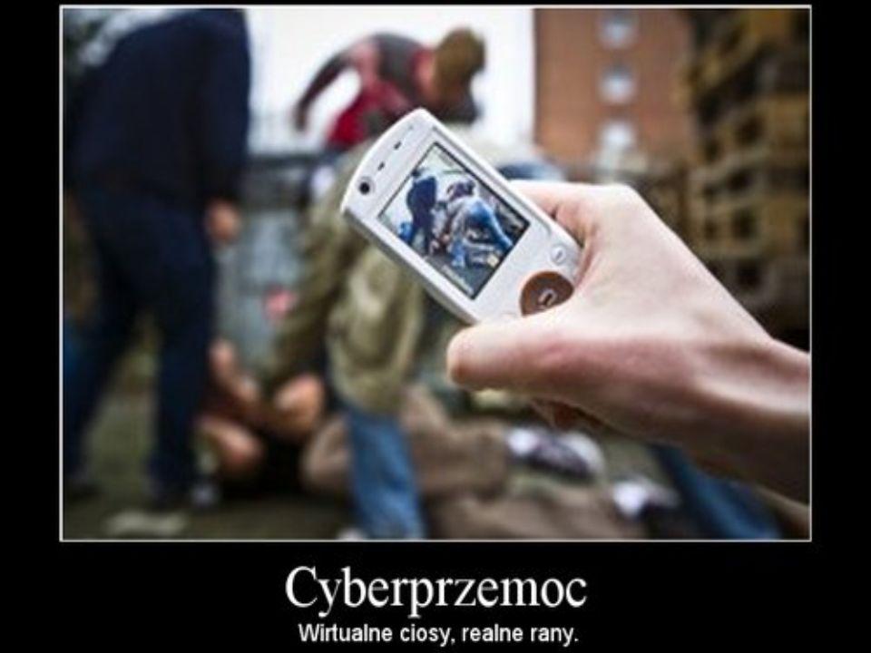 Definicje Definicje: – przemoc z użyciem technologii informacyjnych i komunikacyjnych (głównie internet i telefony komórkowe) - przemoc emocjonalna Wymienione zjawiska charakteryzuje wysoki poziom anonimowości sprawcy.