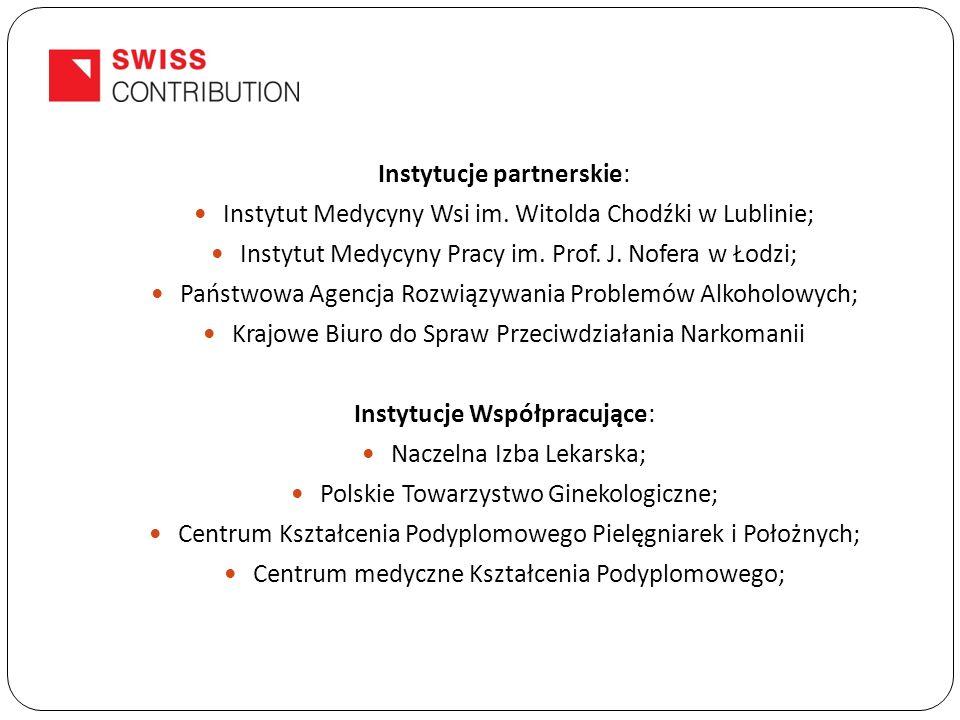 Instytucje partnerskie: Instytut Medycyny Wsi im.