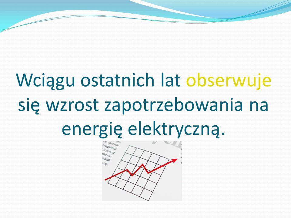 Wzrost zapotrzebowania na energię jest ściśle związany z rozwojem gospodarczym.