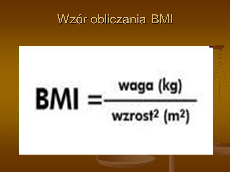 Wzór obliczania BMI