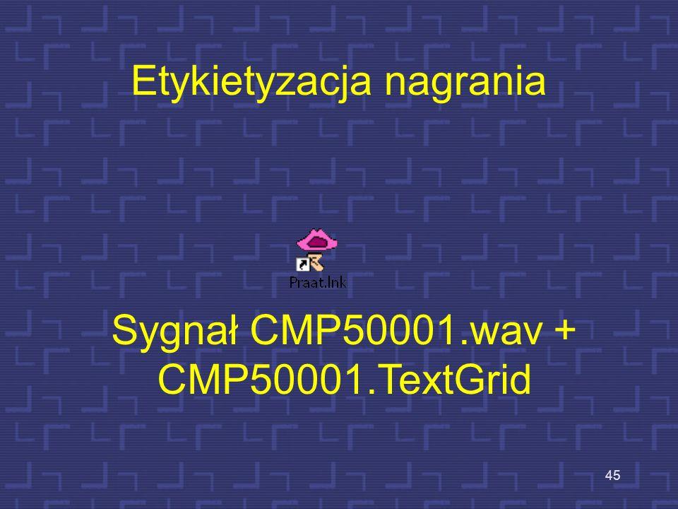 44 Przykład transkrypcji fonetycznej (SAMPA) – mowa syntetyczna konversja tekstu na move otfjera nove moZlivostsi nedostempne f tradItsIjnIx sIstemax