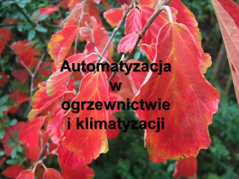 Automatyzacja w ogrzewnictwie i klimatyzacji