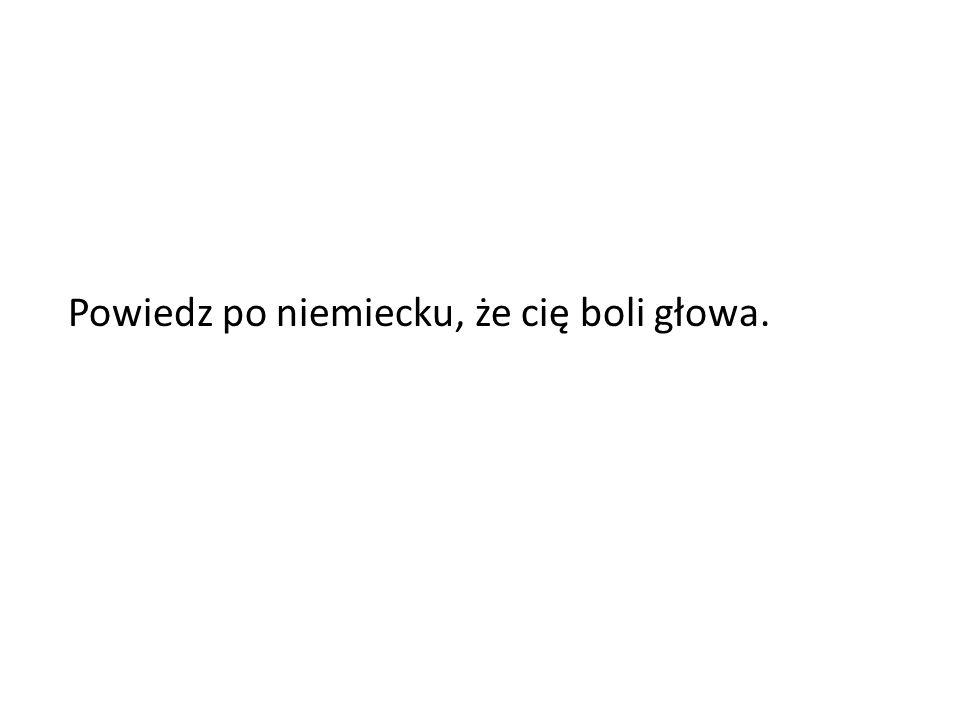 Przetłumacz na angielski: POTRAFIĘ ŚPIEWAĆ.