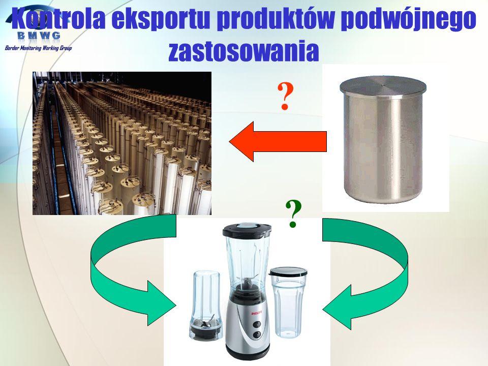 ? ? Kontrola eksportu produktów podwójnego zastosowania