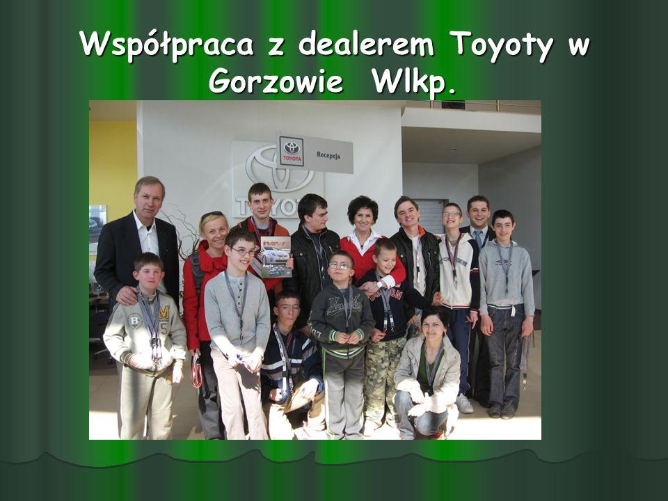 Współpraca z dealerem Toyoty w Gorzowie Wlkp.
