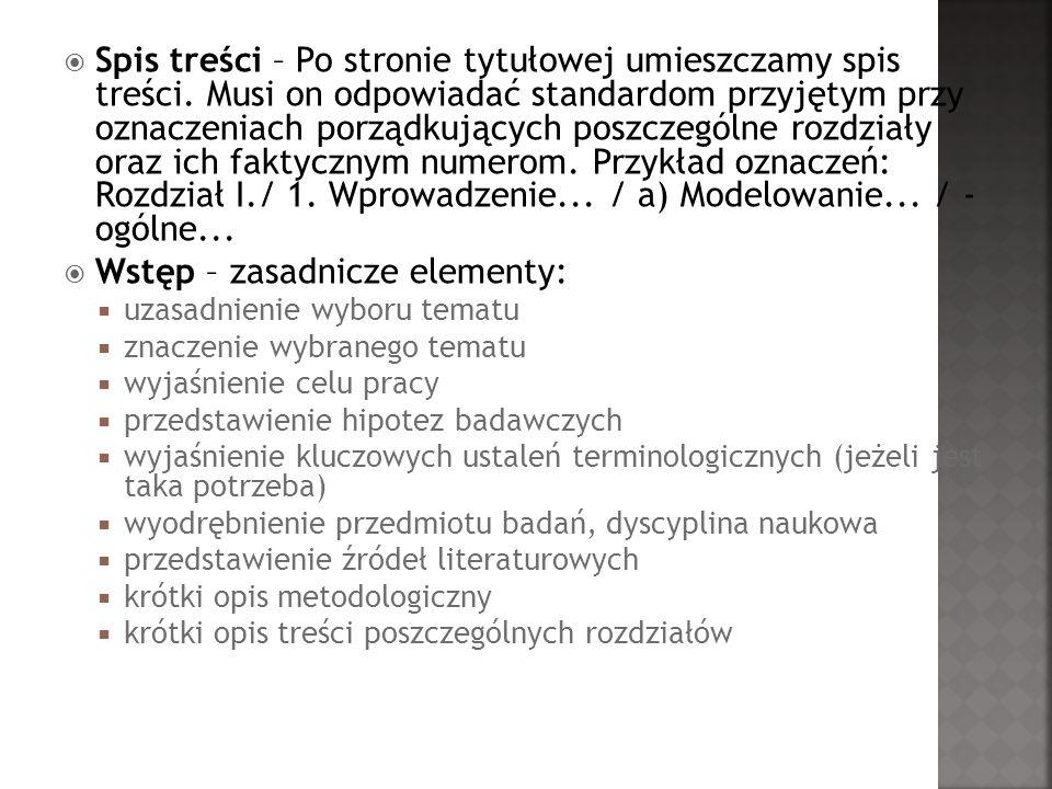 Rodzaje przypisów: źródłowe zwykłe Pułło A., Prace magisterskie i licencjackie.
