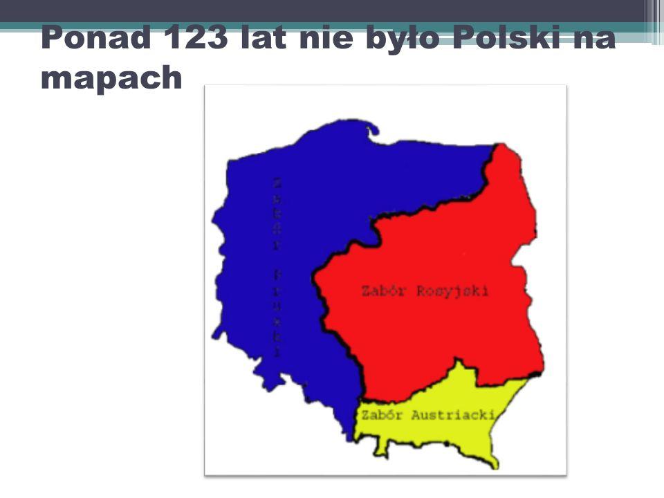 Ponad 123 lat nie było Polski na mapach
