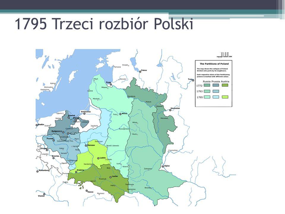 1795 Trzeci rozbiór Polski