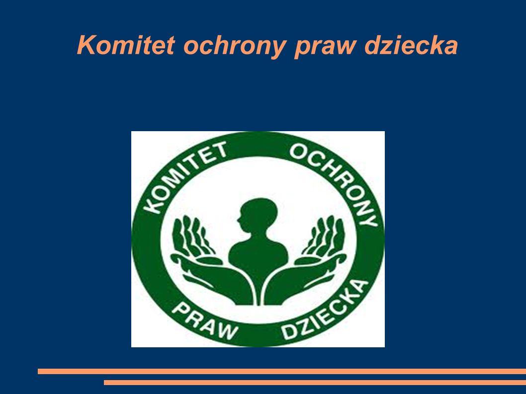 Komitet ochrony praw dziecka