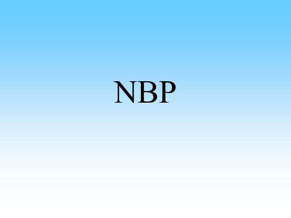 NBP – podstawy prawne i obszary działalności Podstawa prawna: Konstytucja RP, ustawa o Narodowym Banku Polskim, ustawa Prawo bankowe Do głównych obszarów działalności NBP należą: –polityka pieniężna, –działalność emisyjna, –wykonywanie nadzoru bankowego, –działania na rzecz systemu płatniczego, –zarządzanie rezerwami dewizowymi, –działalność edukacyjna i informacyjna, –obsługa Skarbu Państwa.